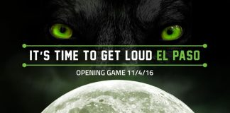 MASL: Dallas at El Paso Coyotes Fri, Nov 4, 2016 07:35 PM