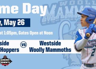 Westside Woolly Mammoths vs Eastside Diamond Hoppers on 5/26/2019