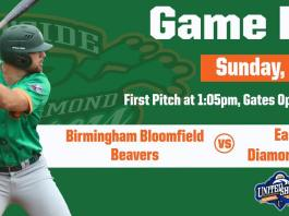 Eastside Diamond Hoppers vs Birmingham Bloomfield Beavers on 6/2/2019
