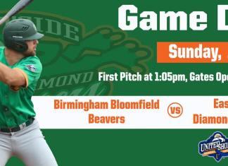 Eastside Diamond Hoppers vs Birmingham Bloomfield Beavers on 6/2/2019