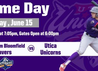 Utica Unicorns vs Birmingham Bloomfield Beavers on 6/15/2019