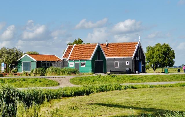 дома в Голландии