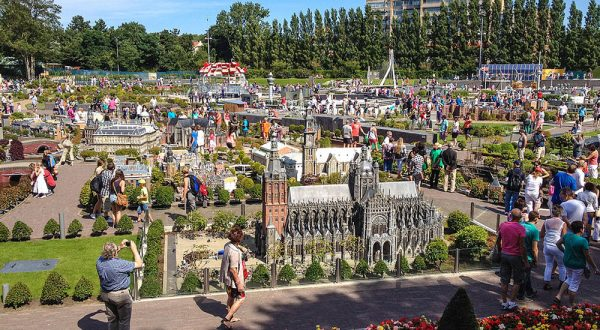 Парк Мадуродам. Фото из Интернета
