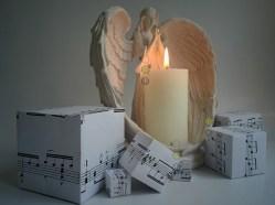 """Angel & candle""; Original artwork, mixed media, © Golnaran 2017, #golnaran, @golnaran"