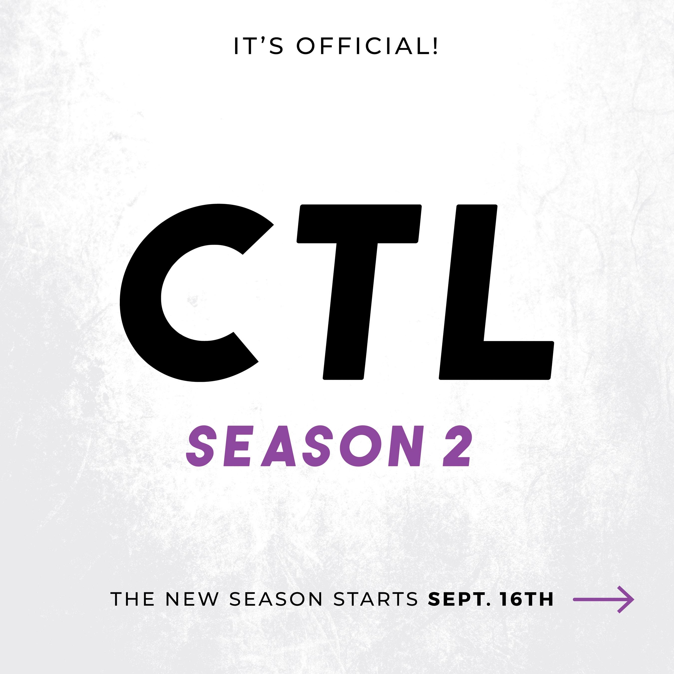 CTL season 2 text graphic