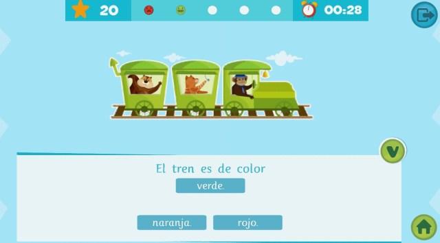 Apps educativas para niños. La biblioteca inteligente de Smile and learn
