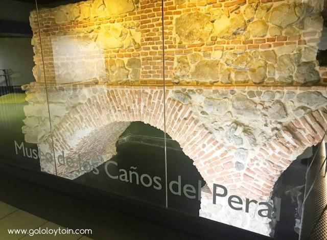 Museo Caños del Peral en Metro de Madrid