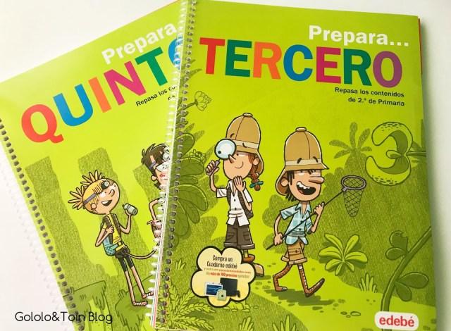 Cuaderno de verano Edebé Primaria