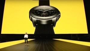 ساعة سامسونج الذكية