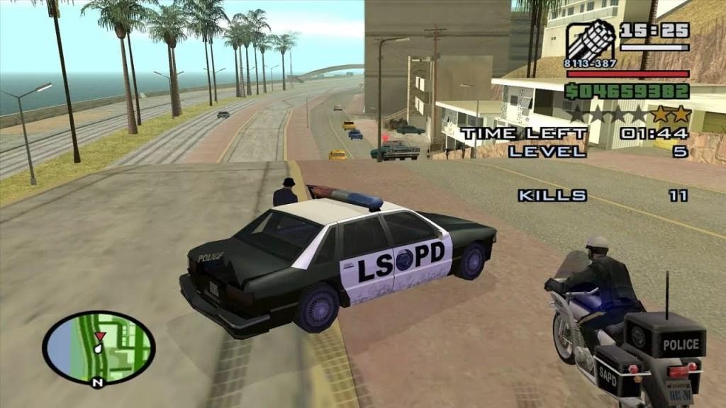 كود جتيا ساندرياس بلاي ستيشن 2 الشرطة لا تبحث عنك ابدا gta san andreas ps2