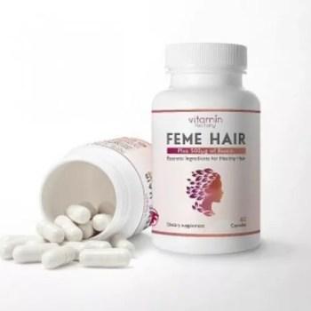 سعر حبوب فيمي هير وافضل انواع بدائل علاج الشعر من الصيدلية