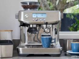 ماكينة قهوة اسبريسو بريفيل باريستا برو سعر ومواصفات ومميزات وتقييم