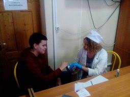 В Краснодаре во всемирный День Борьбы со СПИДом со студентами провели интерактивные дискуссии