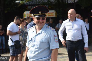 Александр Папанов на протестной акция против пенсионной реформы в Краснодаре © Фото Елены Синеок, Юга.ру
