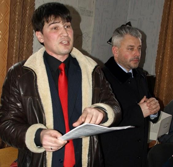 Максим Голосной и Юрий Бублик