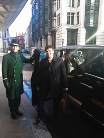 Maxim Golosnoy in London