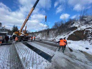 На Львівщині ремонтують міст між Східницею та Уричем