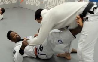 Raspagem + Estrangulamento dos 100kg – Manoel Gomes