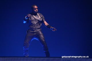 Kanye and Jay-Z in Manchester