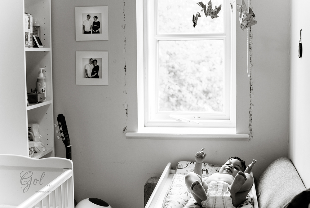 baby in his room environment