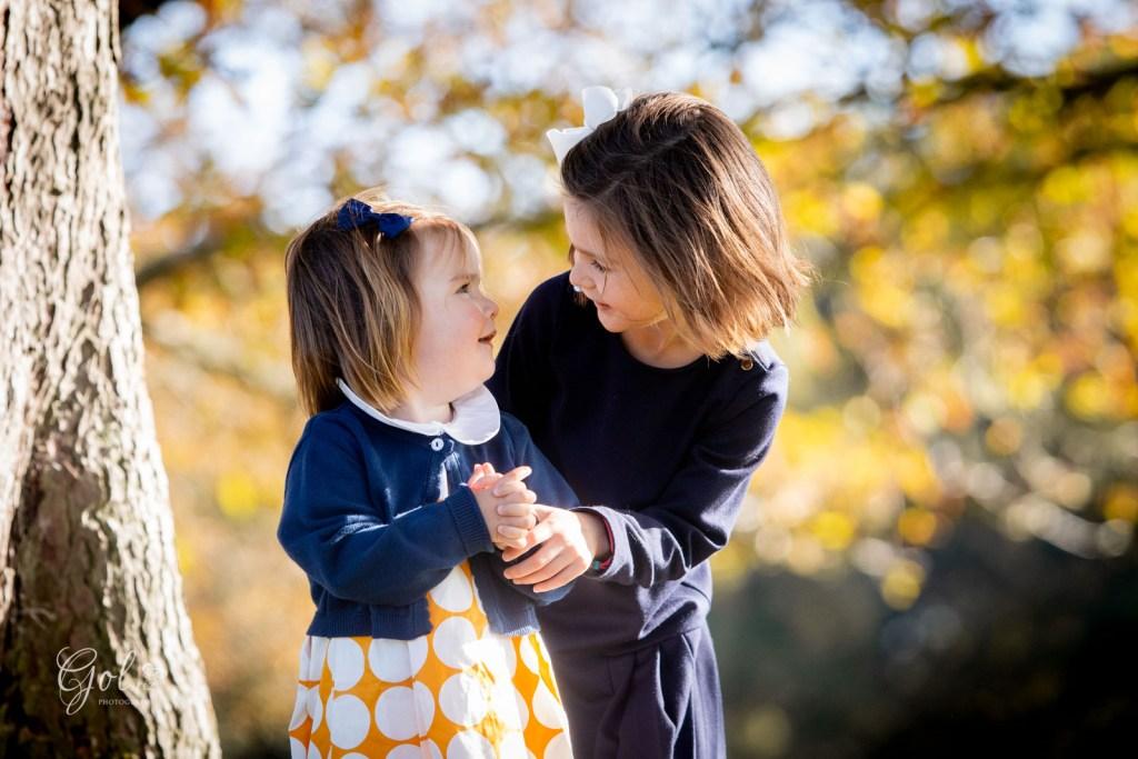 autum family photoshoot in richmond