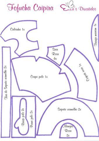 caipira-moldes