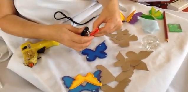 Mariposas 3D en goma eva 2