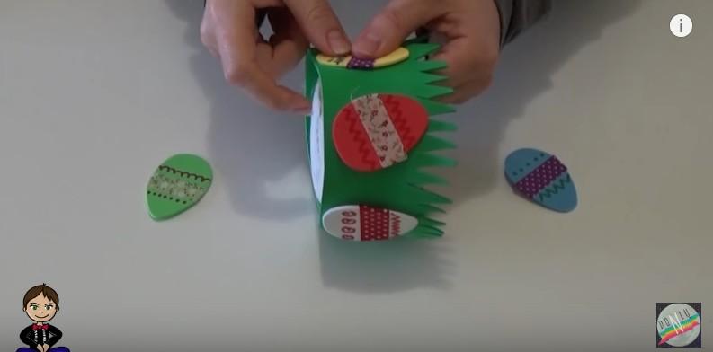 DIY Conejito dulcero de Pascua 8