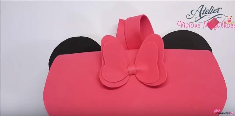 Mochila de Mickey y Minnie Mouse 10