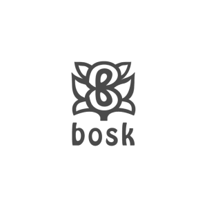 Logo Bosk cinza 2 - Logo Bosk cinza 2