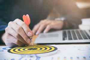 Serviços Agência Goma Inbound Marketing - Business strategy success target goals.