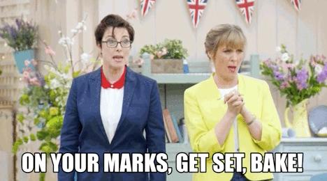 Image result for on your marks get set bake