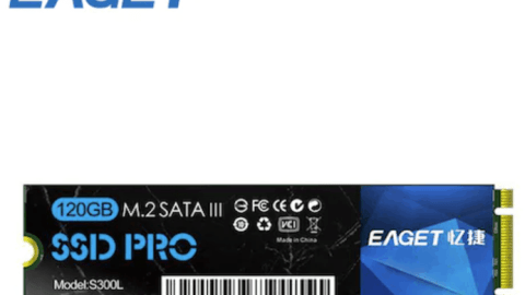 EAGET S300L SSD M.2 NGFF 128GB Solid State Drive High Speed Compact Slient Shockproof SSD for PC Laptop