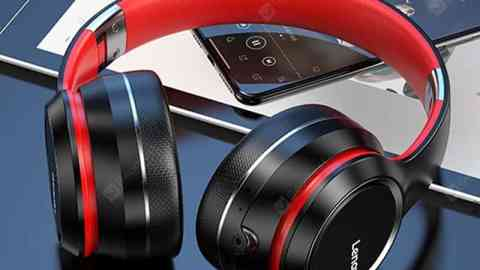 Lenovo HD200 Bluetooth Headphone Wireless Bluetooth Headphones Stable Transmission Noise Reduction