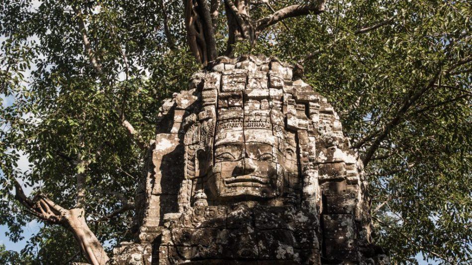 Victory Gate, Angkor Thom, Cambodia