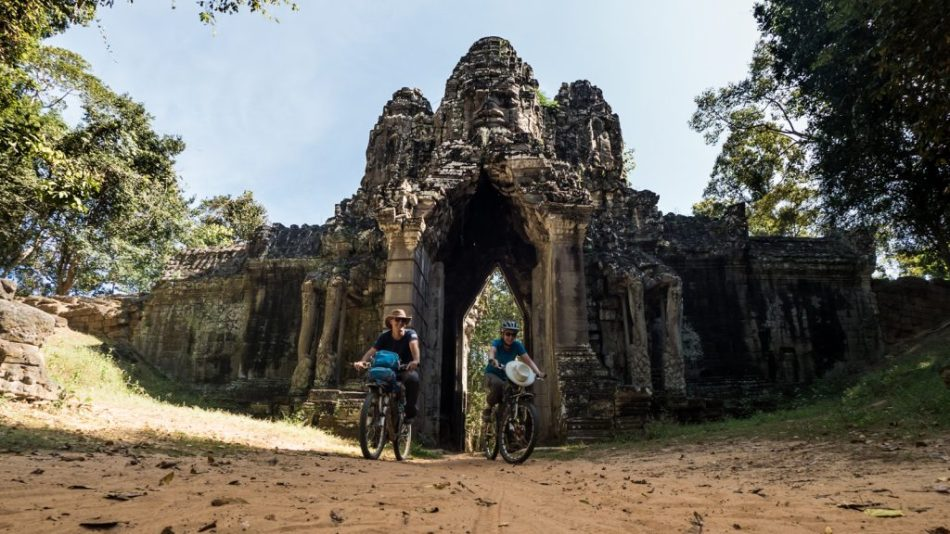 Gate of the dead, Angkor Thom, Cambodia