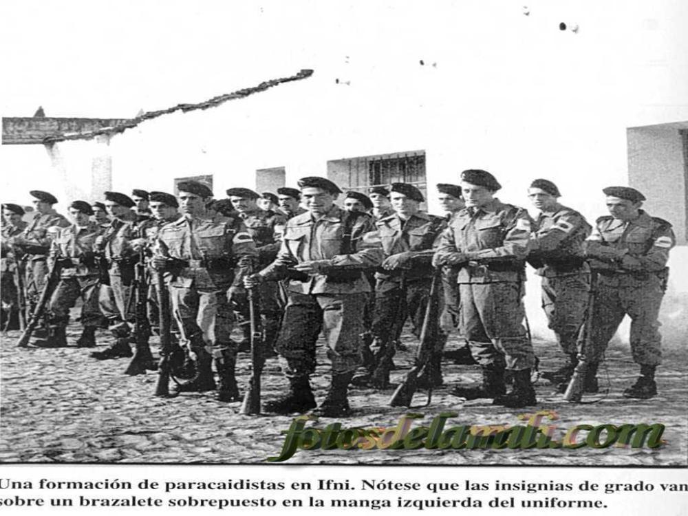 Guerra de Ifni. Las banderas paracaidistas 1957-1958 I (1/6)