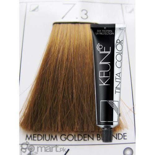 Keune Tinta Color Medium Golden Blonde 73 Hair Color