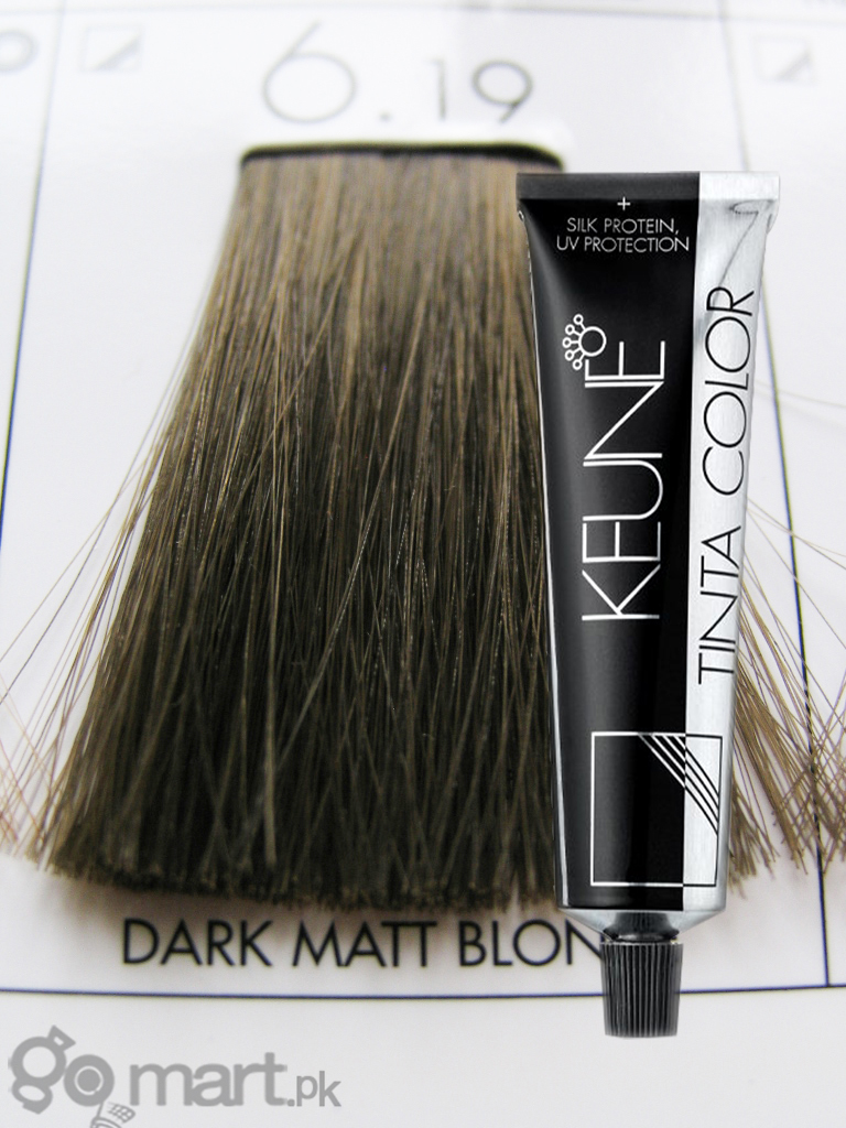 Keune Tinta Color Dark Matt Blonde 619 Hair Color Amp Dye