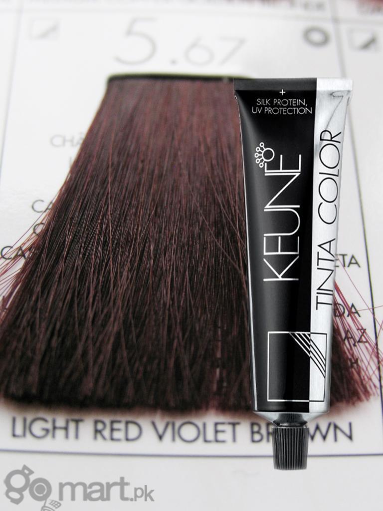 Keune Tinta Color Light Red Violet Brown 567 Hair Color Amp Dye Gomartpk