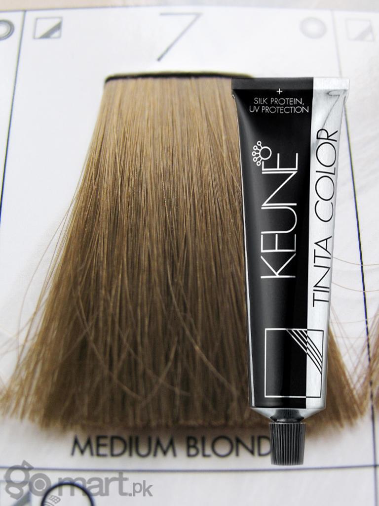Keune Tinta Color Medium Blonde 7 Hair Color Amp Dye