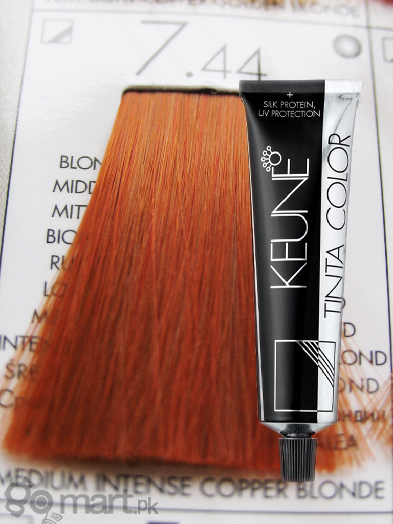 Keune Tinta Color Medium Intense Copper Blonde 744 Hair