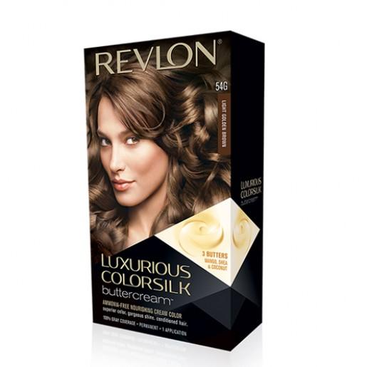 Revlon Luxurious ColorSilk ButterCream Hair Color 54G