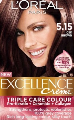 Loreal Excellence Creme 515 Iced Brown Hair Color Amp Dye