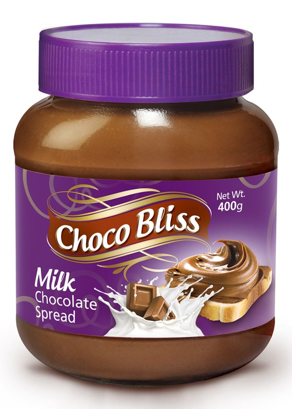 Youngs Choco Bliss Milk Chocolate Spread 400gm Jams