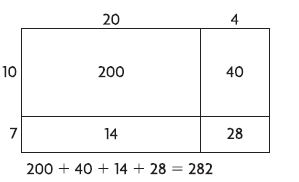 Go Math Grade 4 Answer Key Chapter 3 Multiply 2-Digit Numbers Common Core img 10