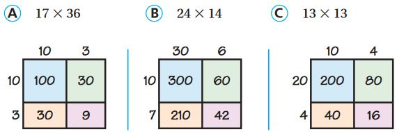 Go Math Grade 4 Answer Key Chapter 3 Multiply 2-Digit Numbers Review/Test img 35