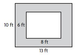 Go Math Grade 4 Answer Key Homework Practice FL Chapter 13 Algebra Perimeter and Area Common Core - Algebra: Perimeter and Area img 30