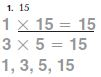 Go Math Grade 4 Answer Key Homework Practice FL Chapter 5 Factors, Multiples, and Patterns Common Core - Factors, Multiples, and Patterns img 1