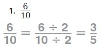 Go Math Grade 4 Answer Key Homework Practice FL Chapter 6 Fraction Equivalence and Comparison Common Core - Fraction Equivalence and Comparison img 4